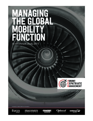 Managing the Global Mobility Function 2015