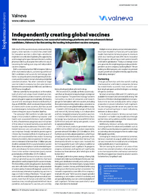 Independently creating global vaccines