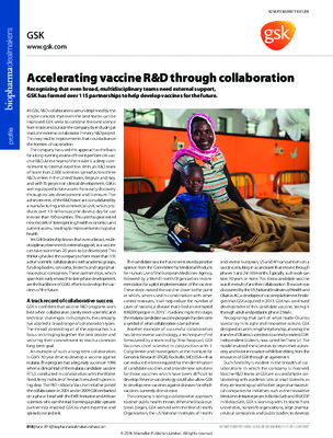 Accelerating vaccine R&D through collaboration