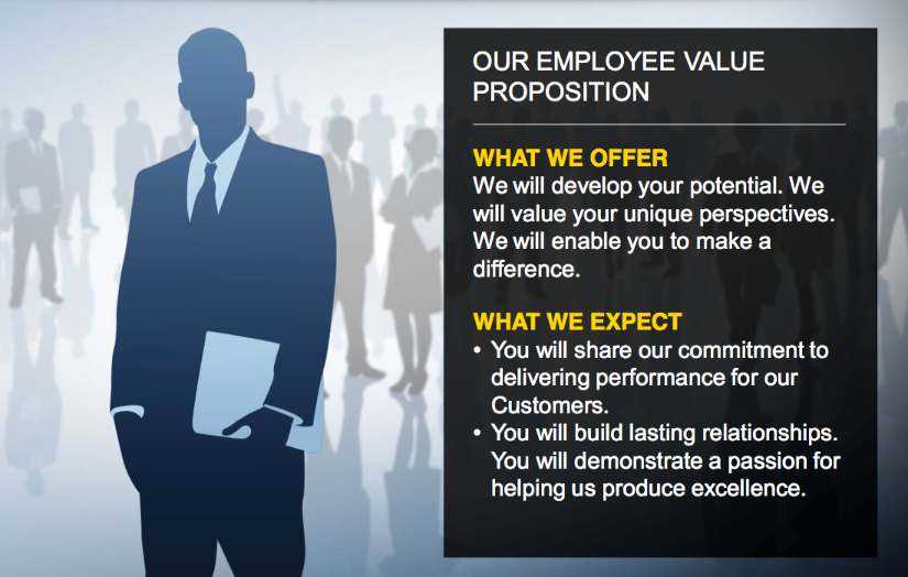 employment and value proposition