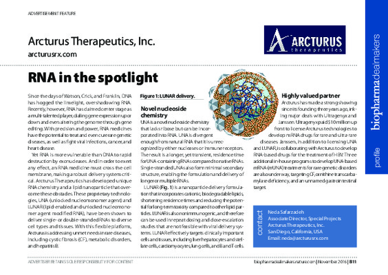 RNA in the spotlight