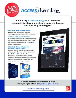 AccessNeurology Flyer
