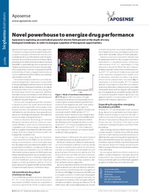 Novel powerhouse to energize drug performance