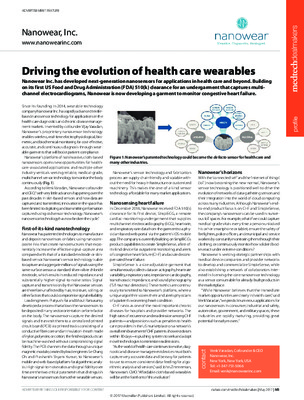 Driving the evolution of health care wearables