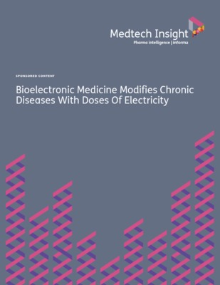 """Bioelectronic Medicine Modifies Chronic Diseases With Doses Of Electricity"" (MedTech Insight 2017)"