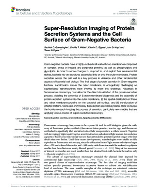 Super-Resolution Microscopy imaging and its implications in bacteriology