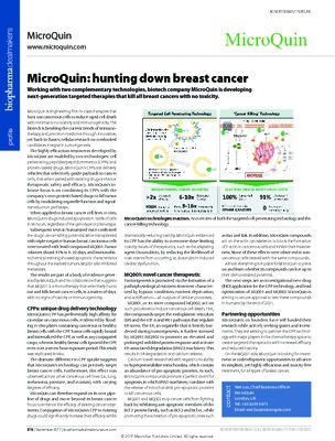 MicroQuin: hunting down breast cancer