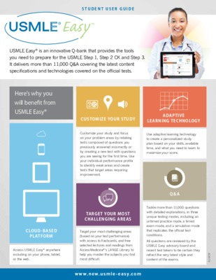 USMLE Easy - Student At-a-Glance Guide