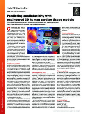 Predicting cardiotoxicity with engineered 3D human cardiac tissue models
